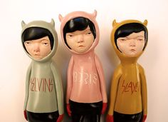 Devil Mae Gang print by doubleparlour on Etsy, $8.00