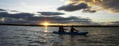 Kayaking at the Mugie Camp Dam