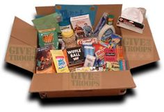 OFFICIAL CARE PACKAGE LIST of the Most Popular ITEMS REQUESTED BY OUR TROOPS