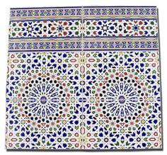 Moorish architecture - tile artwork & home decor