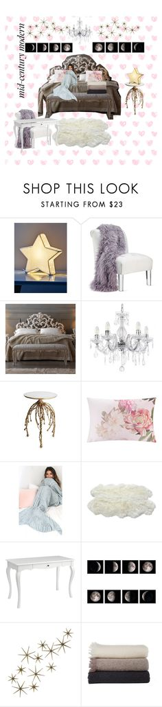 """""""Dream Bedroom"""" by weirdflower ❤ liked on Polyvore featuring interior, interiors, interior design, home, home decor, interior decorating, Ted Baker, Luxe Collection, Pier 1 Imports and Global Views"""