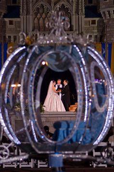 Magic Kingdom Wedding Spotlight: Sarah + Fred