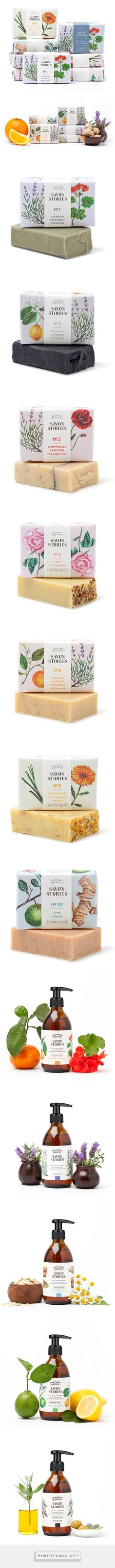 Savon Stories / English company specialised in the handcraft of 100% organic soaps produced in small batches, through a cold-processed method