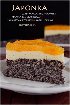 Polish Desserts, Polish Recipes, Cookie Desserts, No Bake Desserts, Sweet Recipes, Cake Recipes, Dessert Recipes, Food Cakes, Sweet Cakes