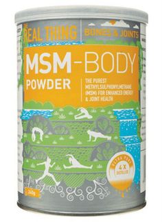 MSM A FANTASTIC NATURAL PRODUCT FOR CHRONIC PAIN RELIEF - Accelerate repair, enhance mobility and fire up flagging energy levels with this natural, sulphur-rich supplement. Especially if you're sick of being tired and fed-up with fighting nagging injury. It's a natural sulphur compound that promotes tissue repair and supports an active lifestyle. You'll get more mobility, more energy and ever-more recovery and repair after training. Buy The Real Thing MSM Body Powder | Organica