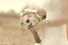 der perfekte Brautstrauß und ein wunderbares Armband