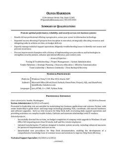 LinkedIn URL On Resume Example