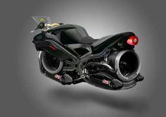もはやmotorcycleとは呼べないかも。