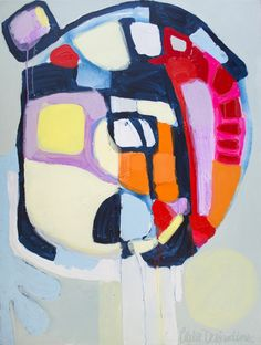 """Saatchi Online Artist: Claire Desjardins; Acrylic, 2011, Painting """"Focus"""""""