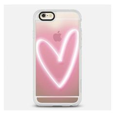 Casetify Neon Heart Iphone Case Pink By ($40) ❤ liked on Polyvore featuring accessories, tech accessories, phone cases, phone, cases, electronics, electronics accessories, pink iphone case, iphone cases and iphone cover case