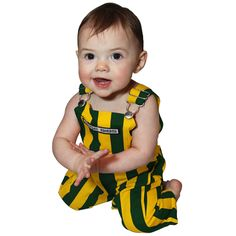 Green Bay Packers Infant Game Bibs