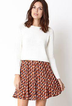 Whimsy Skater Skirt | FOREVER21 - 2031557842