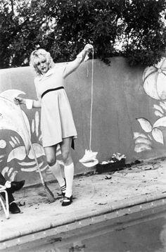 Courtney Love babydoll early days