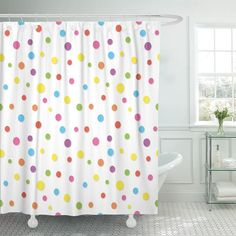 Fabric Shower Curtain 71 X 71 inches Kids Bright /& colorful  New  Choice Pattern