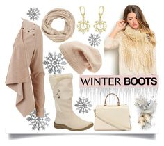 """Winter Boots"" by jeneric2015 ❤ liked on Polyvore featuring Object Collectors Item, maurices, Sole Society, Allurez, Nila Anthony and winterboots"