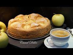 BIZCOCHO DE MANZANA RÁPIDO Y FÁCIL - YouTube Sin Gluten, Cookie Decorating, Christmas Cookies, Cake Recipes, Pudding, Make It Yourself, Cooking, Breakfast, Easy