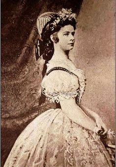 Empress Sissi in Hungarian court dress.Saved from forum: index.hu