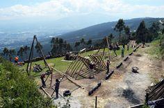 """Galería - Mejorar el espacio comunitario """"con lo que hay"""": Parque Tambo del Inca - 13"""