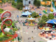 Parquecito de diversiones  by Juan Pablo Barrerra Fajardo  Great tilt shift!