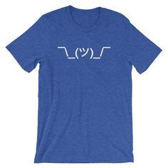 Shrug Emoticon T-Shirt (Unisex) – NoiseBot.com