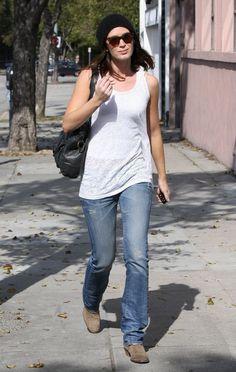 Emily Blunt Jeans Tshirt 4