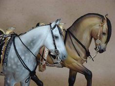 Caballos ensillados by Nohuanda Equine Art, via Flickr
