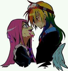 Pinkimena x RF Rainbow Dash