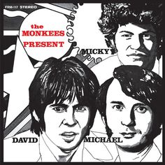 The Monkees - The Monkees Present on Limited Edition Translucent Yellow 180g LP