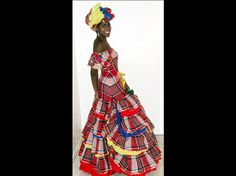 A traditional dress from Jamaica