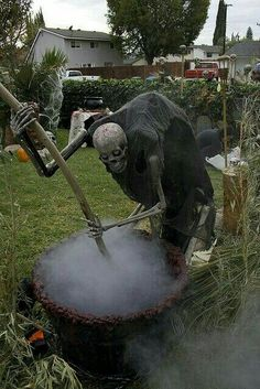 Halloween Home Haunt Display