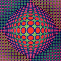 The Father of Op Art - Victor Vasarely