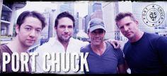 Port Chuck; Bradford Anderson, Brandon Barash, Scott Reeves and Steve Burton