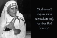 Mother Teresa was one of the greatest humanitarians of the century, she was canonized as Saint Teresa of Calcutta in Quotes By Famous People, Famous Quotes, Apj Quotes, Motivational Quotes, Life Quotes, Mother Theresa Quotes, Mother Quotes, Missionaries Of Charity, Saint Teresa Of Calcutta