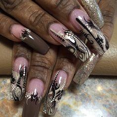 Instagram photo by Nisha's Nails • Jun 9, 2015 at 2:48 AM