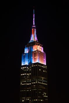 The Empire State Building's art-inspired lighting for the reopening of the Whitney Museum makes news in NYC. Read The New York Times' story about it here: http://www.nytimes.com/2015/04/27/nyregion/a-dozen-works-of-art-to-be-displayed-in-lights-on-the-empire-state-building.html