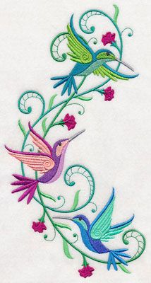 Machine Embroidery Designs at Embroidery Library! - New This Week Machine Embroidery Applique, Free Machine Embroidery Designs, Crewel Embroidery, Hand Embroidery Patterns, Cross Stitch Embroidery, Quilt Patterns, Pot Pourri, Quilled Creations, Fabric Painting
