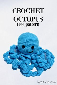free octopus crochet pattern