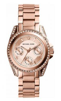 68dcf22b3010 Michael Kors BLAIR MK5613 Damenuhr - Armbanduhren Center Uhr Rosegold, Michael  Kors, Modische Armbanduhren