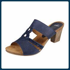 Caprice 9-27201-36-857 Größe 41 Blau (dunkelblau) - Clogs für frauen (*Partner-Link)