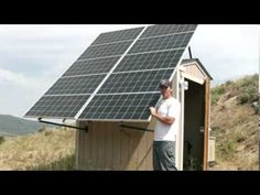 Check out this article about Solar Panels we just blogged at http://greenenergy.solar-san-antonio.com/solar-energy/solar-panels/living-off-the-grid-2-our-solar-array-in-off-grid-solar-power-system/