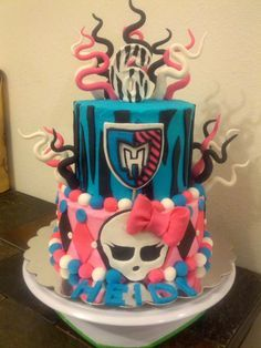 Cake * monster high party