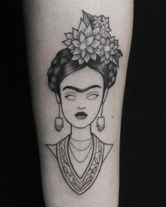 31 Frida Kahlo-Inspired Tattoos That'll Make You Want To Get Inked