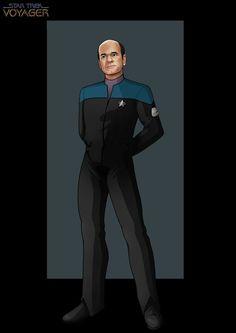 Doctor (Drawing by NightWing1975 @deviantART) #StarTrek #Voyager