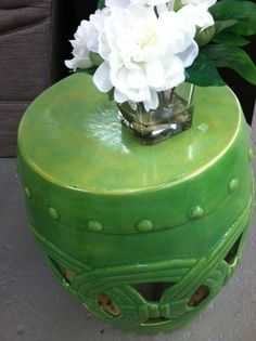 Green Garden Stool   Green Ceramic Stools   Green Porcelain Stool   Green  Ceramic Stool   Green Porcelain Stools   Green Pottery Stool   Green Pottu2026