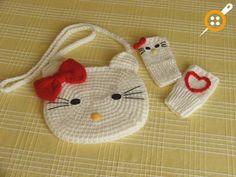 Hello kity вязание модели сумки