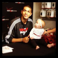 Nico Meets His Youngest Fan