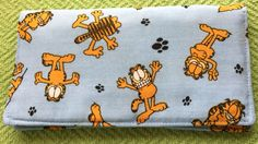 Garfield and friends Checkbook cover