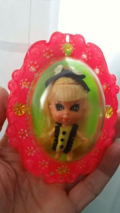 """Lucky Locket Kiddles """"Louise"""", Vintage ~ Nice with Locket"""