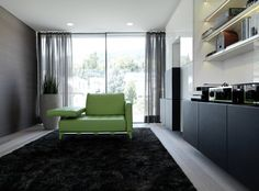 Modern Living Room Onstage House by SimmenGrouphas
