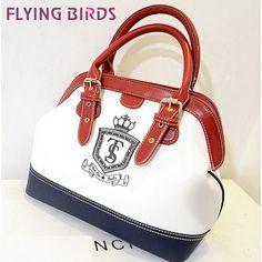 Pássaros voando! Marca famosa bolsa 2014 mulheres shell sacos ombro sacos do mensageiro mulheres pu bolsa de couro novo ls1870 totes em dog ...